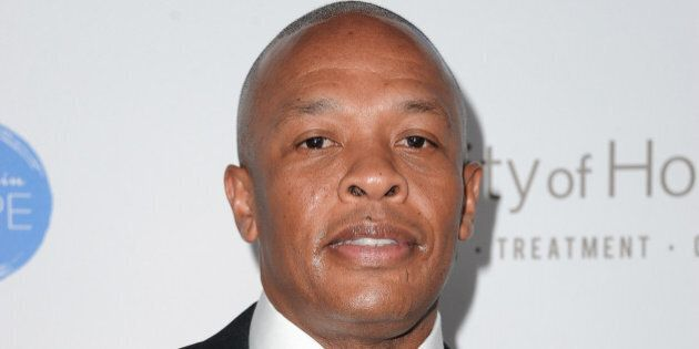WEST HOLLYWOOD, CA - OCTOBER 23: Dr. Dre attends the City of Hope Spirit of Life Gala honoring Apple's...