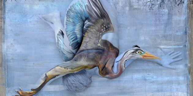 «Body Paint»: le corps humain transformé en superbes portraits d'animaux sauvages