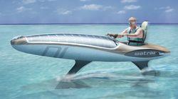 La Watrix: une motomarine silencieuse alimenté par l'énergie