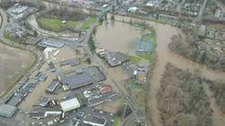 Des évacuations en Colombie-Britannique à la suite de pluie