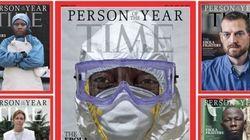 Les combattants de l'Ebola, la personnalité Time de