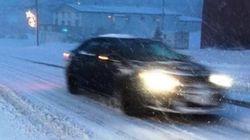 Le mauvais temps hivernal sévit au Québec
