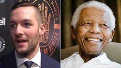 Jonathan Bernier, le gardien des Maple Leafs, ne connaissait pas Nelson Mandela