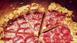 Pizza Hut lance la pizza Doritos en