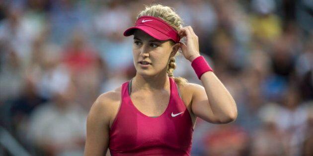 Tennis : Les résultats en carrière d'Eugenie Bouchard dans les tournois du Grand
