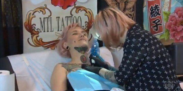 Convention tattoo