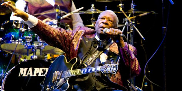 BB King performs at Club Nokia on November 11, 2011 in Los Angeles (Photo by Paul A.