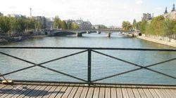 Des panneaux vitrés pour remplacer les «cadenas d'amour» du Pont des