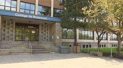 La direction du Collège de Rosemont dans