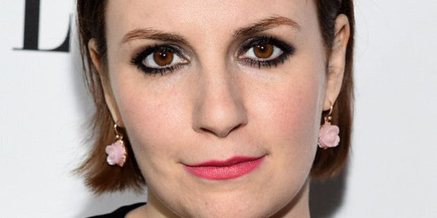 WEST HOLLYWOOD, CA - JANUARY 13:  Actress Lena Dunham attends ELLE's Annual Women in Television Celebration on January 13, 2015 at Sunset Tower in West Hollywood, California. Presented by Hearts on Fire and Olay.  (Photo by Michael Buckner/Getty Images for ELLE)