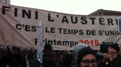 Manifestation de l'ASSÉ contre l'austérité à