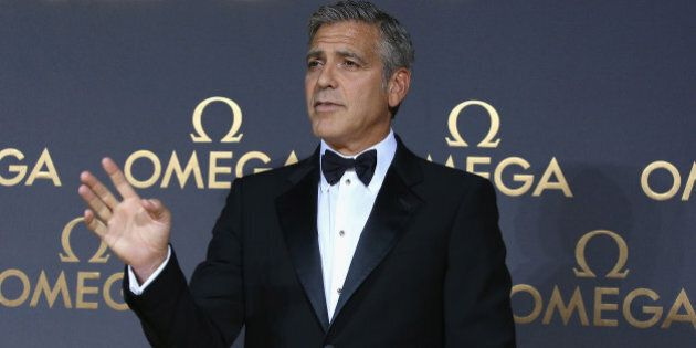 SHANGHAI, CHINA - MAY 16: Actor George Clooney arrives for the red carpet of Omega Le Jardin Secret dinner...