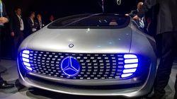 Daimler imagine une voiture sans