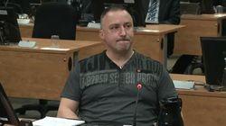 Bernard «Rambo» Gauthier coupable d'intimidation