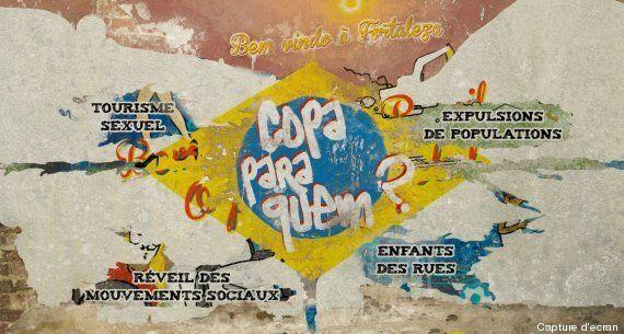 Coupe du monde 2014: le webdoc «Copa Para Quem?» explore les dessous du