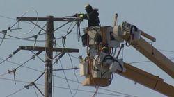 Hydro-Québec: deux lignes de transport causent des pannes d'électricité