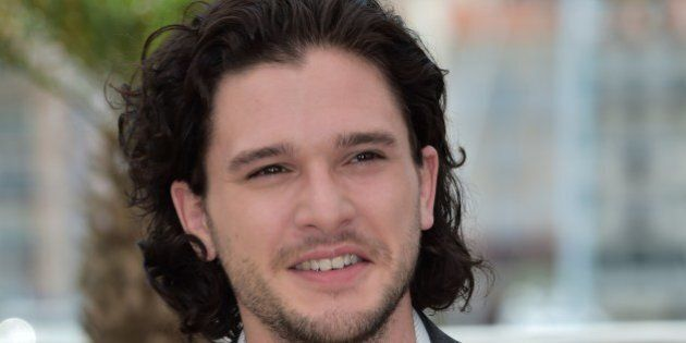 British actor Kit Harington poses during a photocall for the animated film 'Dragon 2' at the 67th edition...