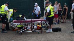 Festival Osheaga: un jeune homme évacué après une mauvaise chute