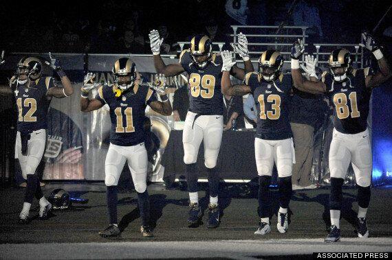 Ferguson: la police de Saint-Louis demande à la NFL de punir des joueurs après un geste de soutien à...