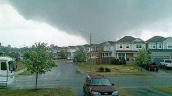 Violente tempête en Ontario: des maisons endommagées à Angus