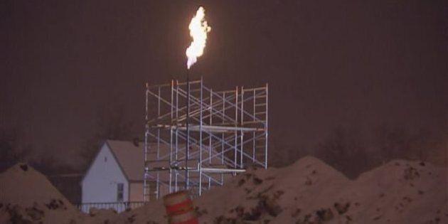 Fuite de gaz à Limoilou: la flamme brûle