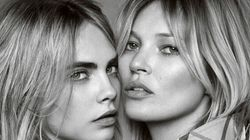 Kate Moss et Cara Delevingne volent tous les regards