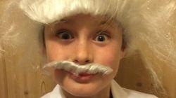 L'émouvant hommage d'un petit garçon à son grand-père pour Movember
