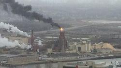 Incendie à l'usine White Birch à
