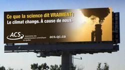 Publicités climato-sceptiques: la riposte scientifique québécoise s'organise avec une campagne de