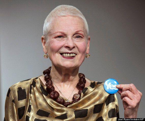 Indépendance de l'Écosse: Willie des «Simpson» et la styliste Vivienne Westwood s'engagent pour le «oui»