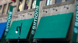 De nouveaux magasins Simons apparaîtront dans 5 villes