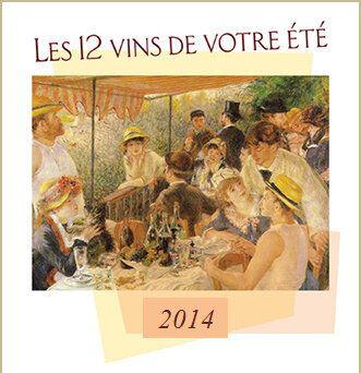 Les 12 vins de votre été