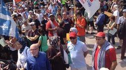 Des milliers de manifestants pro-Gaza à