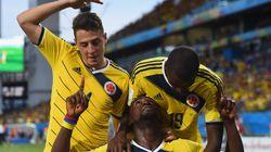 Mondial-2014: Carton plein pour la Colombie