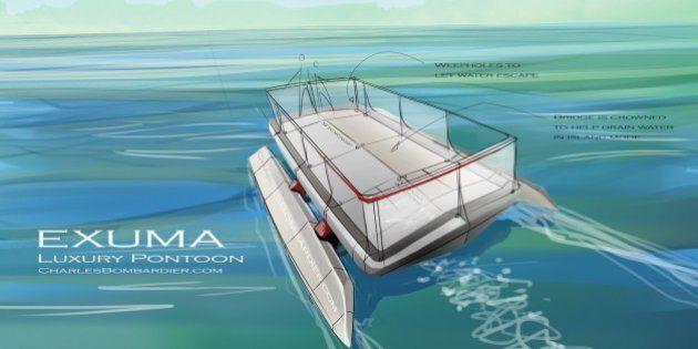 L'Exuma, un ponton automatisé pour faire le tour des