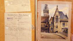 Une aquarelle signée Adolf Hitler à vendre aux