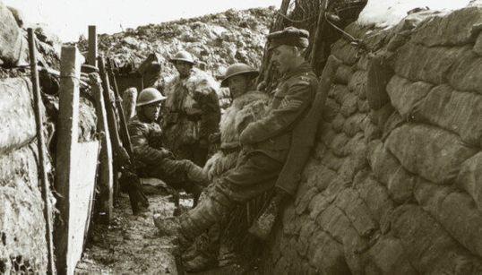 Des clichés inédits de la Première Guerre mondiale