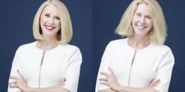 Sans maquillage à la télévision, la présentatrice Tracey Spicer a osé après une expérience d'un