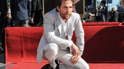 Matthew McConaughey reçoit son étoile à Hollywood