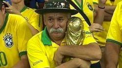 Il a pleuré la défaite de son équipe, mais a posé un geste