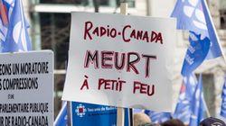 Coupures à Radio-Canada: l'instigateur de la manifestation dénonce les propos d'Hubert