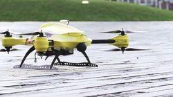 Un étudiant belge veut lancer le drone ambulance