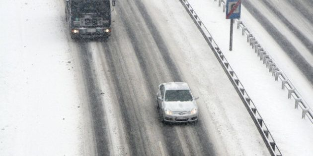 Première neige dans certaines régions du Québec: 5 centimètres à