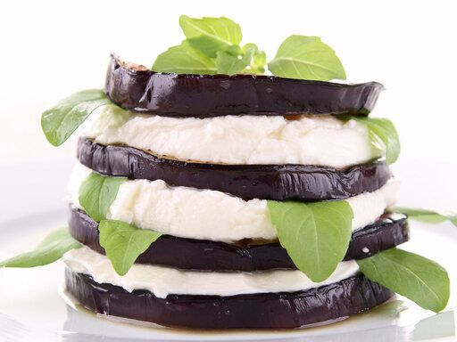 Recette du week-end: Millefeuille d'aubergine au fromage