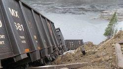 Déraillement de train près de Sept-Îles : double
