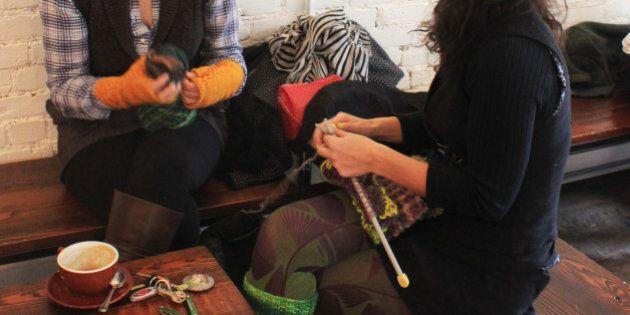 Quand tricoter devient un art