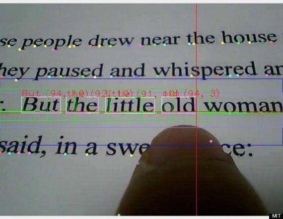 Les malvoyants pourront lire grâce au Finger Reader