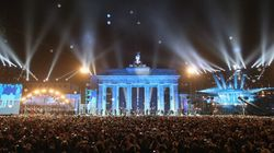 Des milliers de ballons dans le ciel de Berlin