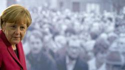 Pour Merkel, la chute du Mur est un signe d'espoir pour les peuples