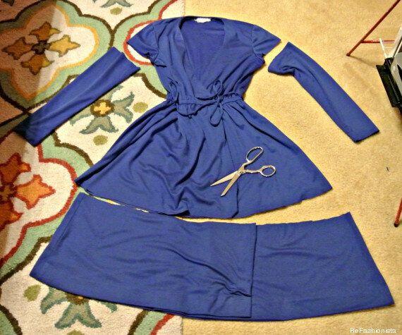 Les belles récupérations de vêtements de la blogueuse ReFashionista